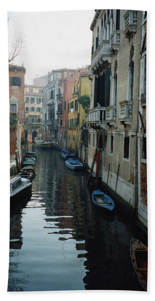 Venice Hand Towel featuring the photograph Venice by Marna Edwards Flavell