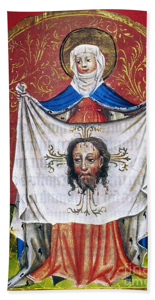 15th Century Hand Towel featuring the photograph Veronicas Veil by Granger