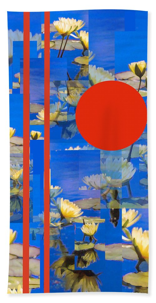 Flowers Bath Sheet featuring the photograph Vertical Horizon by Steve Karol