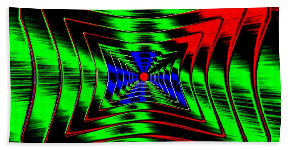 Energizing Bath Towel featuring the digital art Vim And Vigor by Will Borden