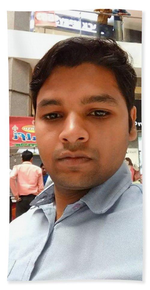 Vinay Kumar Bath Sheet featuring the digital art Vinay Kumar by Vinay Kumar