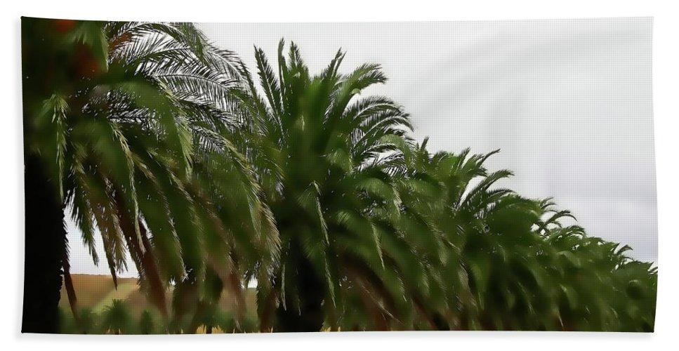 Palm Trees Bath Sheet featuring the photograph Vinescape by Douglas Barnard