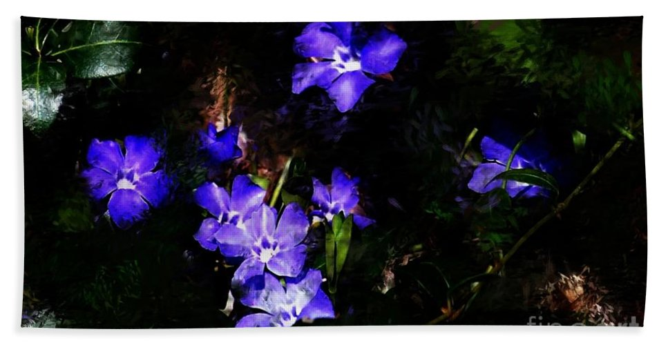 Spring Bath Towel featuring the photograph Violet by David Lane