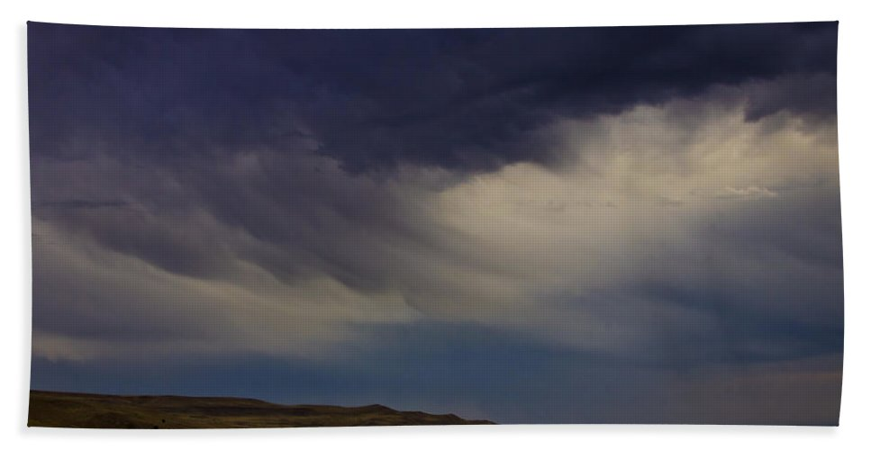 Clouds Hand Towel featuring the photograph Virga by Albert Seger