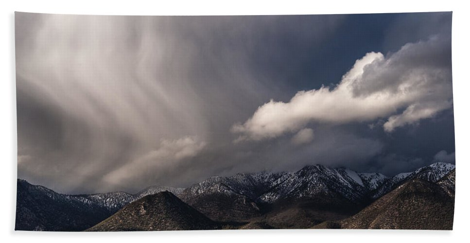 California Hand Towel featuring the photograph Virga by Cat Connor