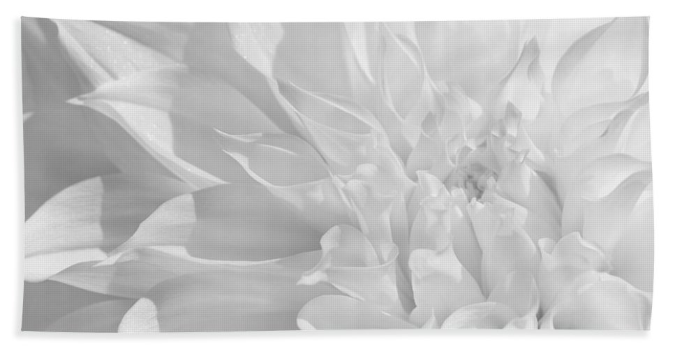 Dahlia Hand Towel featuring the photograph Waft by Iryna Goodall