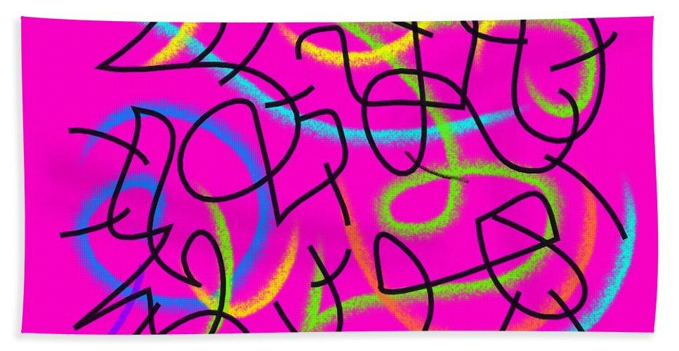 Waiting Bath Towel featuring the digital art Waiting by Chani Demuijlder