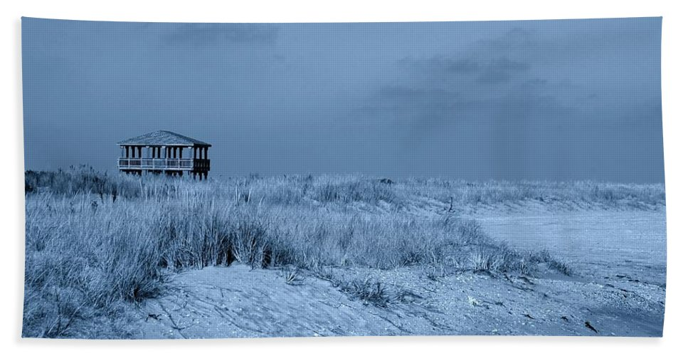 Jersey Shore Hand Towel featuring the photograph Waiting For Summer - Jersey Shore by Angie Tirado