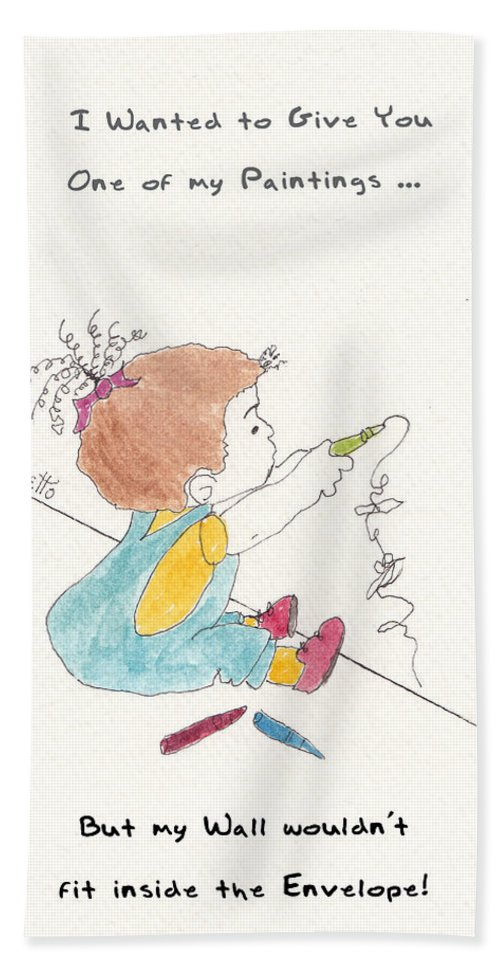 Pamela Allegretto Hand Towel featuring the painting Wall Art by Pamela Allegretto