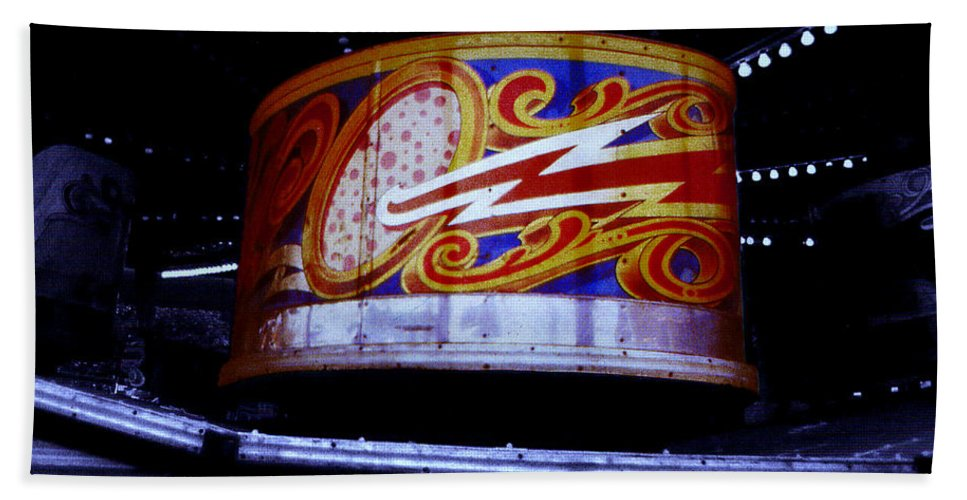 Waltzer Bath Towel featuring the photograph Waltzer by Charles Stuart