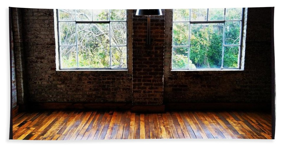 Warehouse Bath Sheet featuring the photograph Warehouse View by Artie Rawls