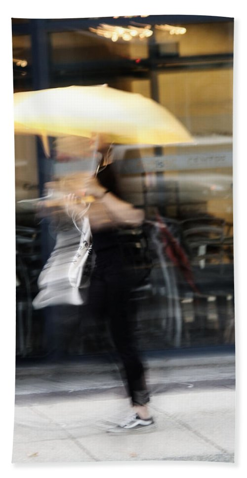 Street Photography Hand Towel featuring the photograph Was That You by The Artist Project
