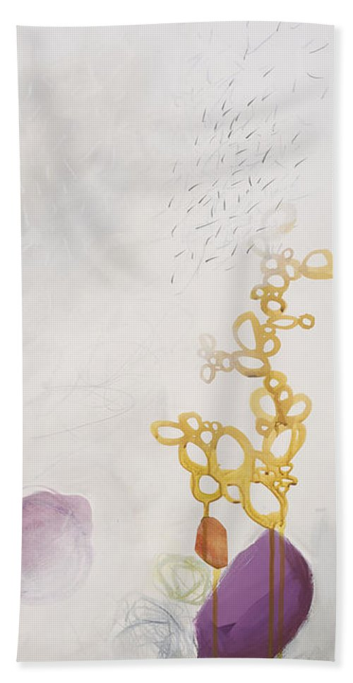 Painting Bath Towel featuring the painting Washed Up # 6 by Jane Davies