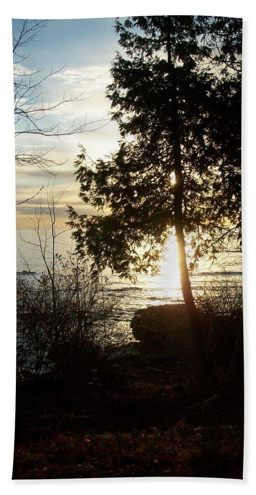 Washington Island Hand Towel featuring the photograph Washington Island Morning 2 by Anita Burgermeister