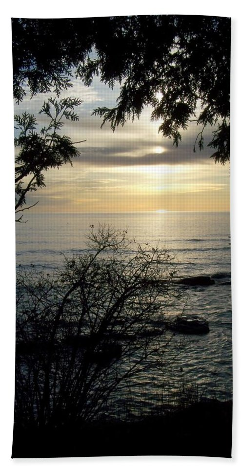 Washington Island Hand Towel featuring the photograph Washington Island Morning 4 by Anita Burgermeister