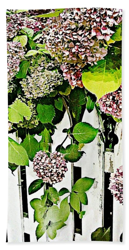 Flower Bath Sheet featuring the photograph Watercolor by JAMART Photography