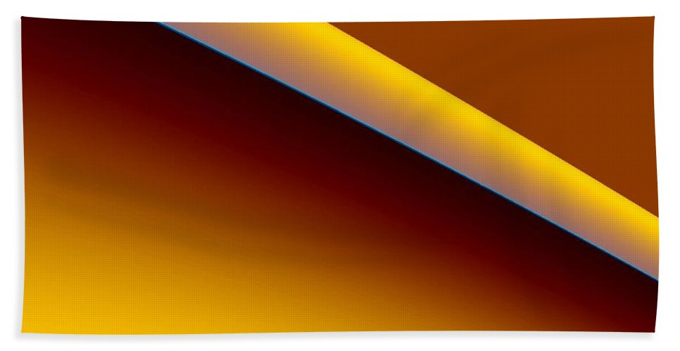 Digital Art Bath Sheet featuring the digital art way II by Dragica Micki Fortuna