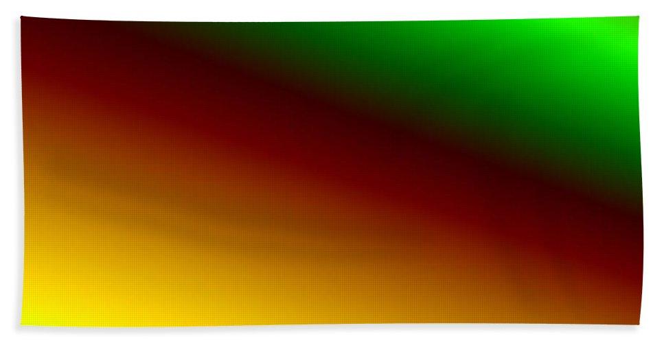 Digital Art Hand Towel featuring the digital art way IV by Dragica Micki Fortuna