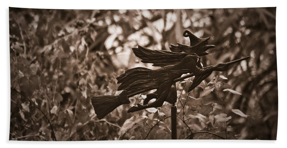 Weather Hand Towel featuring the photograph Weather Vane by Teresa Mucha