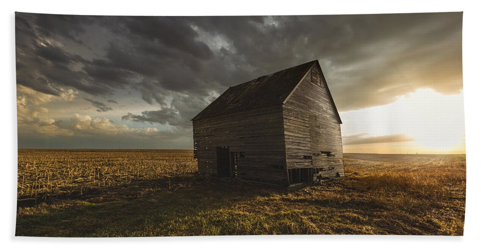 #500px Bath Sheet featuring the photograph Weathered by Aaron J Groen