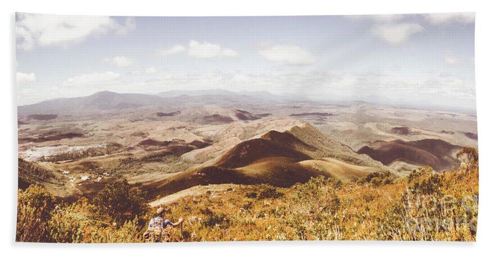 Australia Hand Towel featuring the photograph Western Tasmania Wilderness by Jorgo Photography - Wall Art Gallery