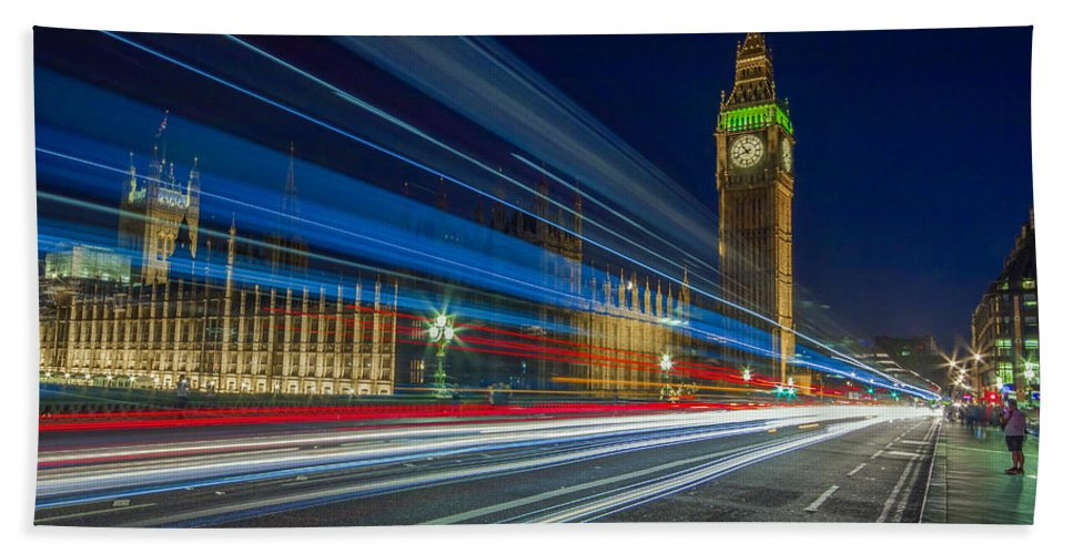 Big Ben Hand Towel featuring the photograph Westminster by Rich Wiltshire