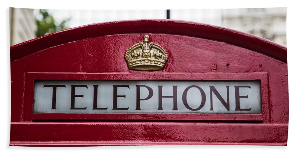 Telephone Booth Hand Towel featuring the photograph What Is That? by Billy Soden