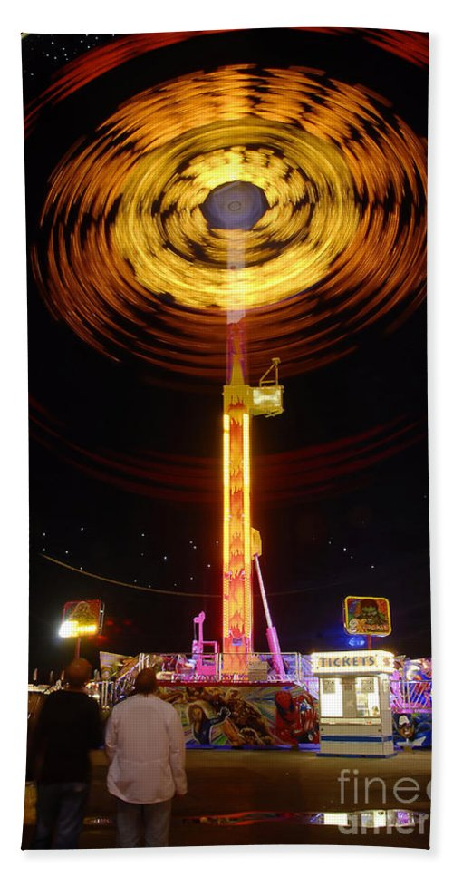 Fair Bath Sheet featuring the photograph Wheels Of Wonder by David Lee Thompson