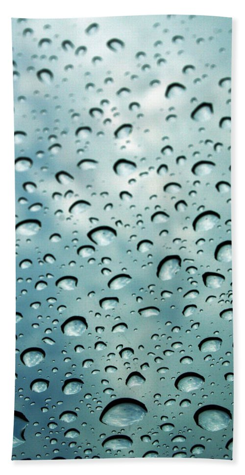 Photography Hand Towel featuring the photograph When The Rain Comes by Linda Sannuti