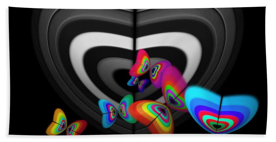 Monochrome Bath Sheet featuring the digital art Where Angels Fear To Tread by Charles Stuart