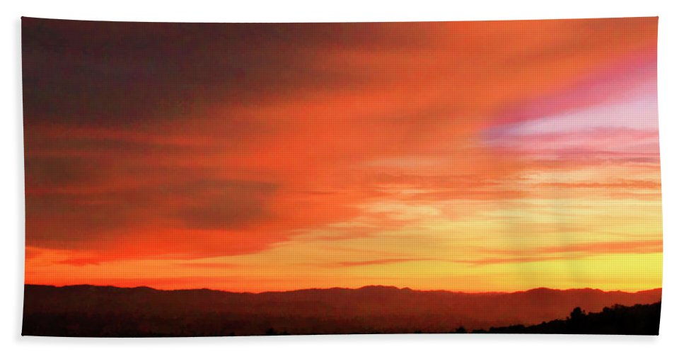 Sunset Hand Towel featuring the photograph Whisper by Pauline Darrow
