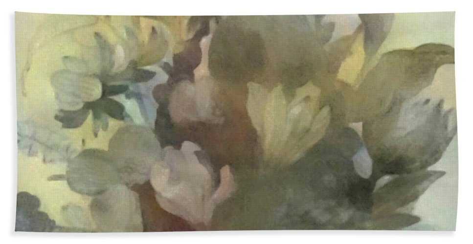 Flowers Hand Towel featuring the digital art Whispering Bouquet 2 by Don Berg