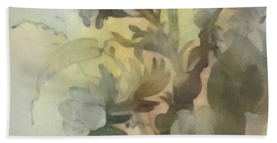 Flowers Hand Towel featuring the digital art Whispering Flowers 2 by Don Berg