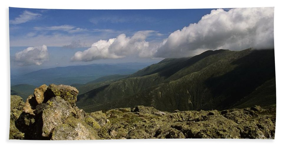Appalachian Trail Bath Sheet featuring the photograph White Mountain National Forest - New Hampshire Usa by Erin Paul Donovan