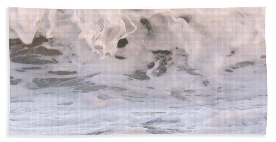 Surf Hand Towel featuring the photograph Wild Surf by Ian MacDonald