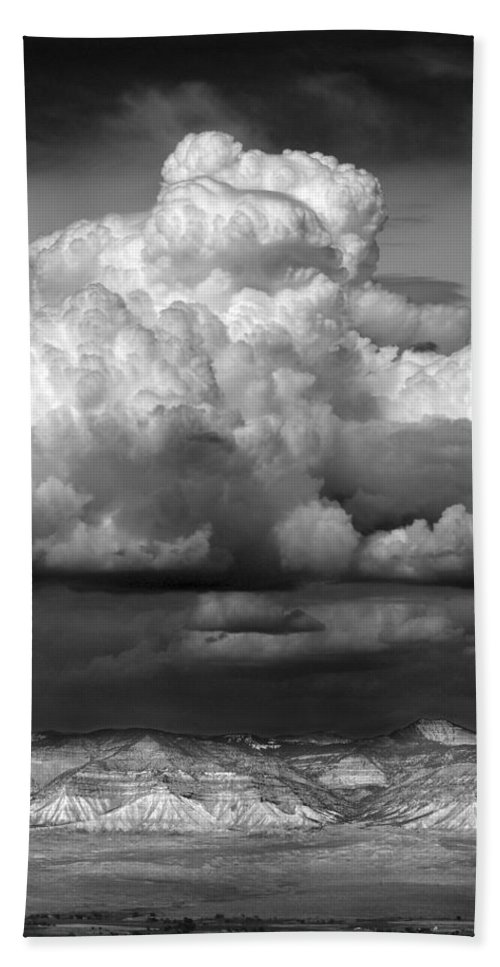 Weather Bath Sheet featuring the photograph Wild Weather by Marilyn Hunt