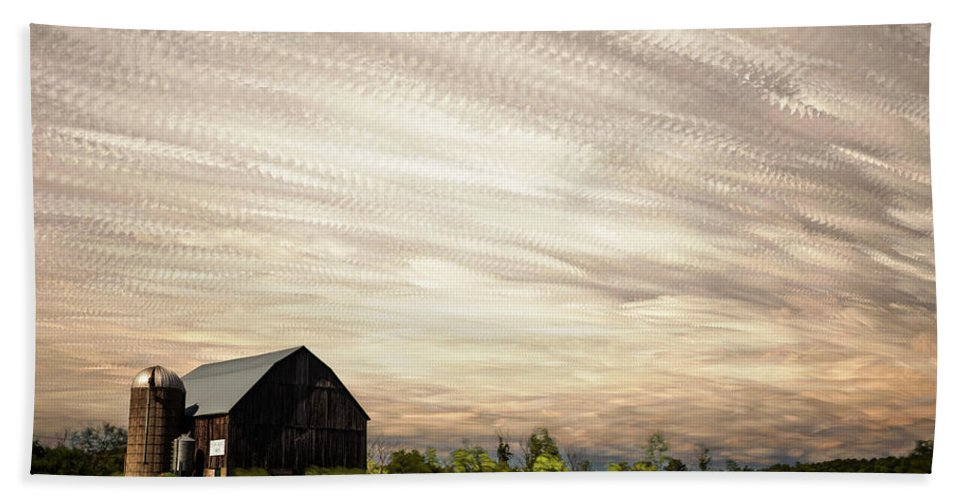 Matt Molloy Bath Towel featuring the photograph Wind Farm by Matt Molloy