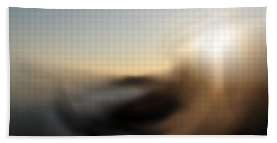 Abstract Bath Sheet featuring the digital art Wind by Stacey May