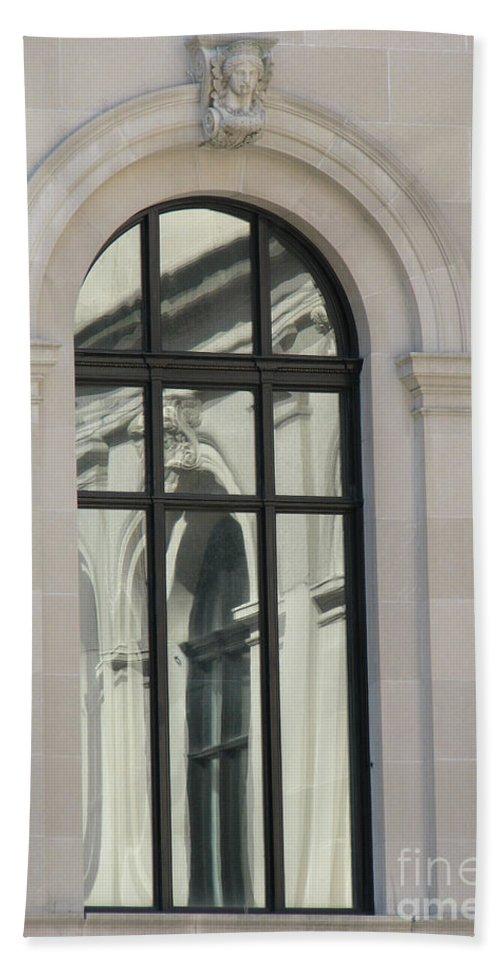 Windows Bath Sheet featuring the photograph Window by Amanda Barcon