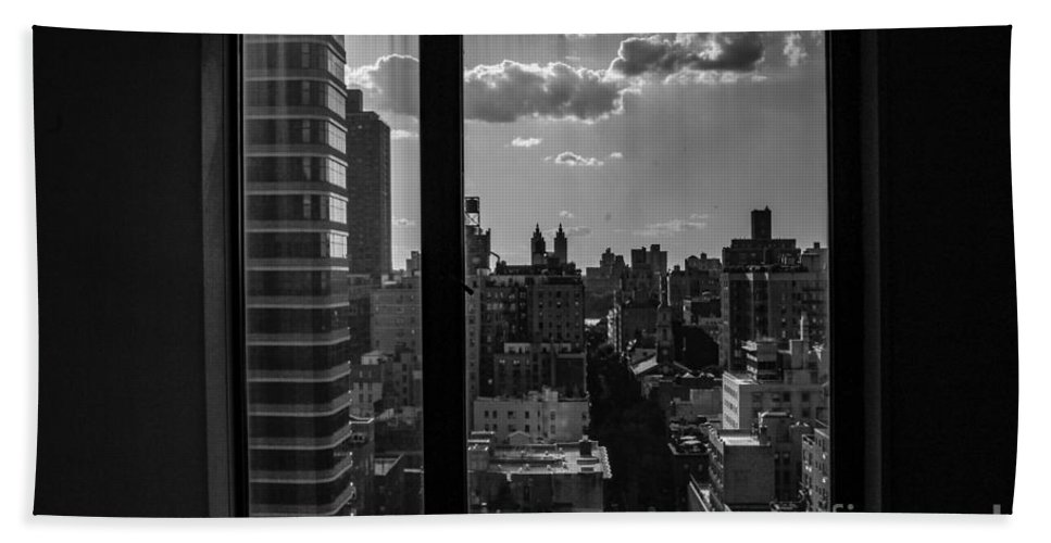 Window Bath Sheet featuring the photograph Window View by Taylor McLaurin