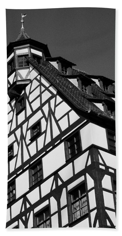 Europe Hand Towel featuring the photograph Windows ... by Juergen Weiss