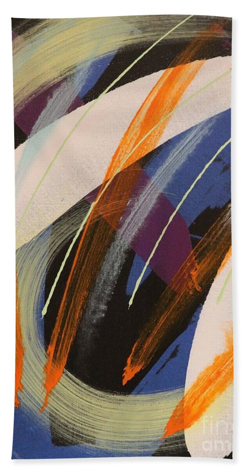 Acrylic Bath Sheet featuring the painting Windswept - 273 by Robert Dixon