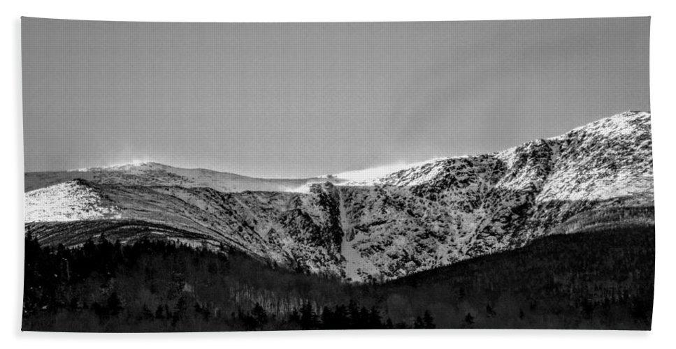 New Hampshire Bath Sheet featuring the photograph Windy Ridge by Dave Pellegrini