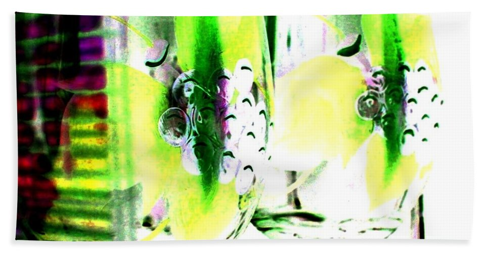 Photo Design Hand Towel featuring the digital art Wine Country Ambiance by Will Borden