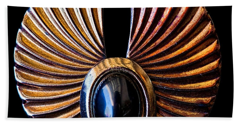 Earrings Hand Towel featuring the photograph Wings by Christopher Holmes