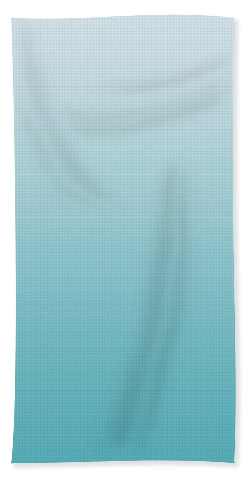 Winter Ice - Abstract Bath Sheet featuring the digital art Winter Ice - R Blended by Custom Home Fashions