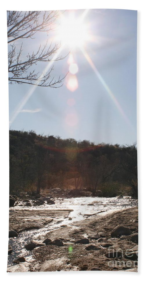Winter Hand Towel featuring the photograph Winter Light by Nadine Rippelmeyer