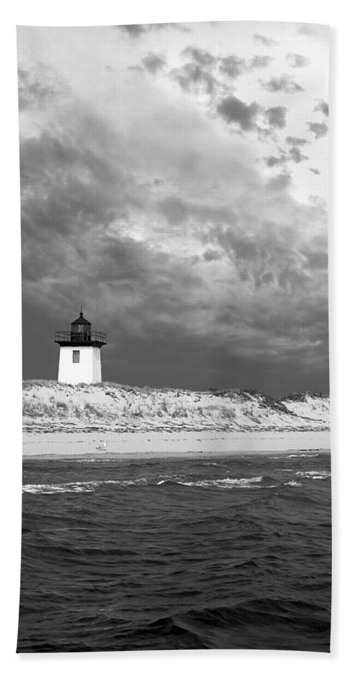 Provincetown Hand Towel featuring the photograph Wood End Lighthouse Provincetown by Charles Harden