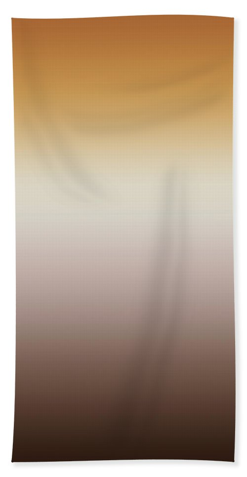 Wood Tones - Abstract Bath Sheet featuring the digital art Wood Tones - R Blended by Custom Home Fashions