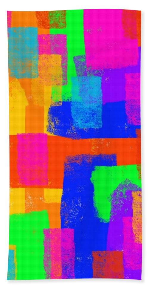 Color Bath Sheet featuring the digital art World Of Color by David G Paul